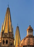 Guadalajara Cathedral Spires Royalty Free Stock Image