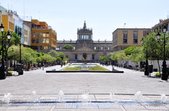 Guadalajara de stad in royalty-vrije stock afbeelding