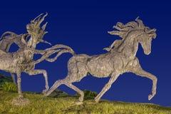 Guadalajara, Jalisco. Stampede monument in Guadalajara, Jalisco Royalty Free Stock Photos