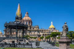Guadalajara katedra - Guadalajara, Jalisco, Meksyk obrazy stock