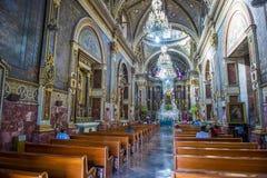 Guadalajara-Kathedrale Lizenzfreie Stockbilder