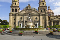 Guadalajara-Kathedrale in Jalisco, Mexiko Stockbild