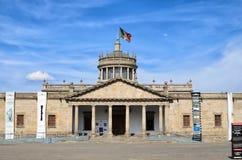 GUADALAJARA, MÉXICO, O 17 DE MAIO DE 2016: Vista às cabanas de Hospicio dentro Imagem de Stock