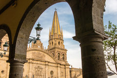Guadalajara, Mexico. Is Mexico's second largest city and has a laid back charm for a city it's size Royalty Free Stock Image