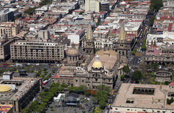 Guadalajara-Stadt Lizenzfreies Stockbild