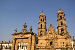 Guadalajara Zapopan Catedral domkyrka Jalisco Mexico Royaltyfria Bilder