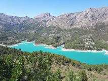Guadalest images stock