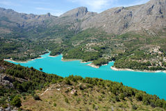 Guadalest Stock Photo