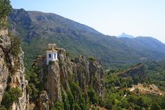 Guadalest Royalty Free Stock Photos