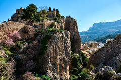 Guadalest castle. Spain Royalty Free Stock Photography