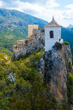Guadalest castle Stock Image