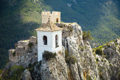 Guadalest castle Royalty Free Stock Photo