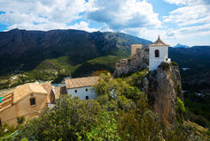 Guadalest castle Royalty Free Stock Image