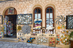 Guadalest gift stall editorial Stock Photos