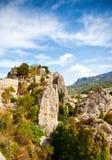 Guadalest, Hiszpania Fotografia Royalty Free
