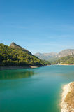 Guadalest lake Royalty Free Stock Image