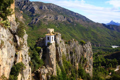 Guadalest's Bell Tower III Stock Image