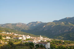 Guadalest valley Royalty Free Stock Photo