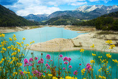 Guadalest water impoundment Stock Photos