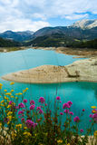 Guadalest water reservoir Royalty Free Stock Photo