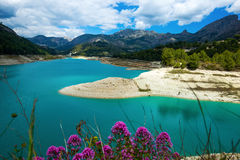Guadalest water reservoir Royalty Free Stock Image