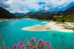 Guadalest water storage Royalty Free Stock Photography