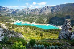 Guadalest water storage Stock Images