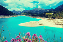 Guadalest water storage Royalty Free Stock Images