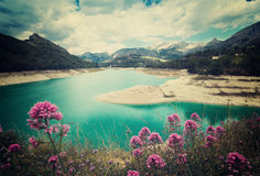 Guadalest water storage Royalty Free Stock Photo