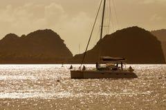 Guadaloupe, isola di Saintes Fotografia Stock