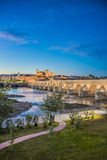 Guadalquivir river in Cordoba, Andalusia, Spain. Royalty Free Stock Image
