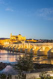 Guadalquivir river in Cordoba, Andalusia, Spain. Stock Image