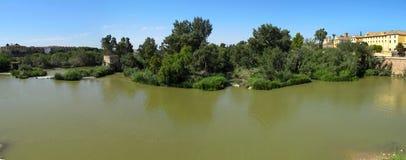 Guadalquivir River - Cordoba Spain Stock Photography