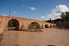 Guadalquivir River passing through Andujar Royalty Free Stock Photography