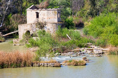 Guadalquivir River Ruins in Cordoba stock photo