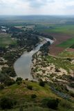 Guadalquivir River Seen From The Tower Of Almodovar Del Rio Castle In Spain Royalty Free Stock Photo