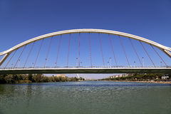 On the Guadalquivir River, Seville, Andalusia, southern Spain.  stock images