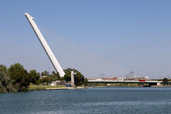 On the Guadalquivir River, Seville, Andalusia, southern Spain.  stock photography