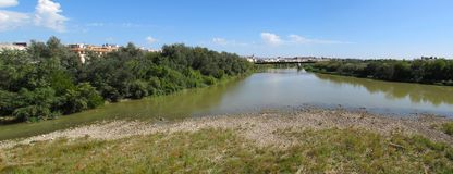 Guadalquivir River - Up River View Stock Photos