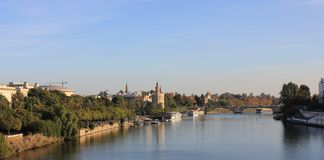 Guadalquivir, Sevilla Royalty Free Stock Photos