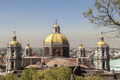 Guadalupe Basilica in Mexico City. Is the biggest place of pilgrimage in Royalty Free Stock Image