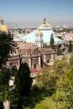 Guadalupe-Basilika in Mexiko City Glaube, außen Lizenzfreies Stockfoto