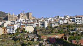 Guadalupe, Caceres, Espanha Imagem de Stock