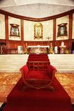 Guadalupe Church anziano Fotografie Stock Libere da Diritti