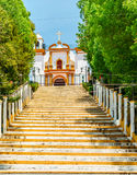Guadalupe Church colonial dans San Cristobal de Las Casas - Mexiko Image libre de droits