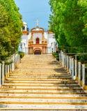 Guadalupe Church colonial em San Cristobal de Las Casas - Mexiko Imagem de Stock Royalty Free