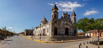 Guadalupe Church in Granada, Nicaragua royalty-vrije stock afbeelding