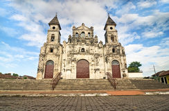 Guadalupe Church at Granada, Nicaragua Royalty Free Stock Photos
