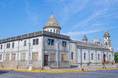 Guadalupe church in Granada Nicaragua Royalty Free Stock Photos