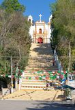 Guadalupe kyrka, San Cristobal de Las Casas, Mexico arkivfoton